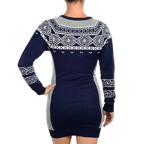 Klew Dallas Cowboys Women s NFL Big Logo Ugly Sweater Dress  Amazon.co.uk   Sports   Outdoors 8f92c8716