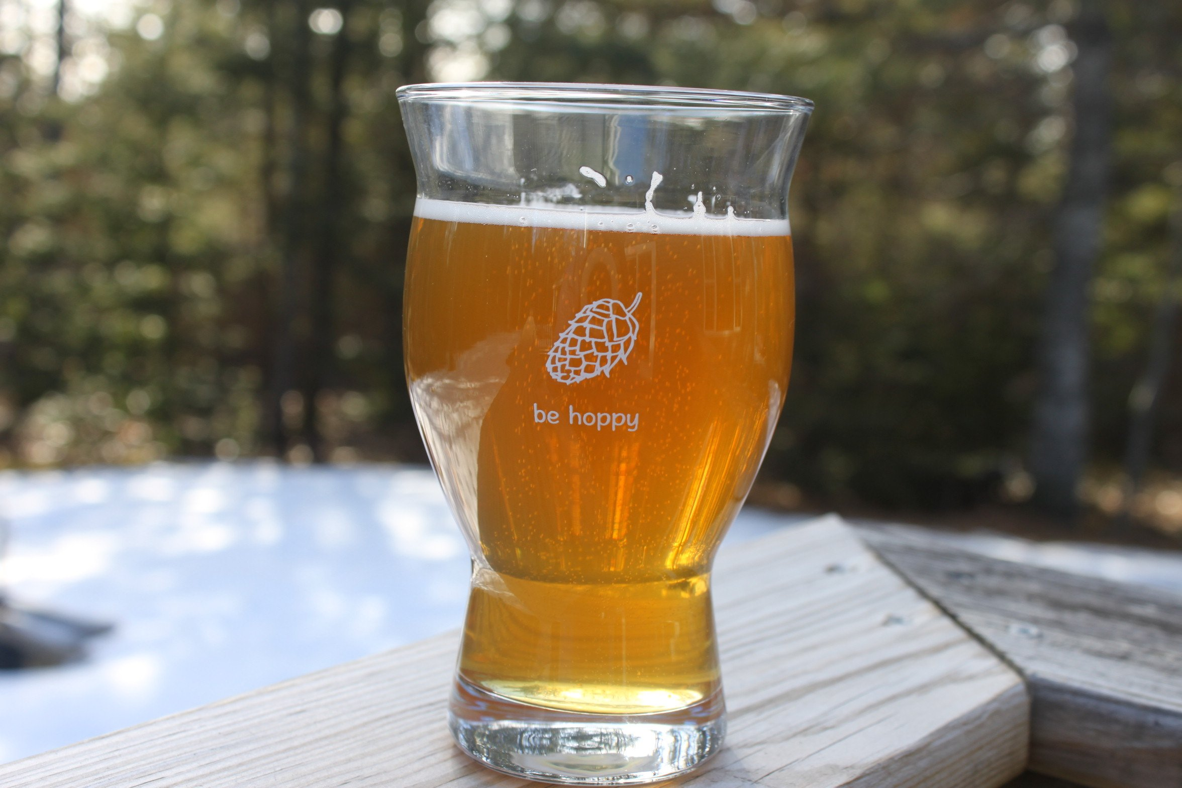 Ultimate Pint - Perfect Pint Glass to Explode Flavors and Maximize Beer Enjoyment - Exclusive Nucleated Hop Leaf Over 100 Points of Nucleation by Cheers All (Image #5)