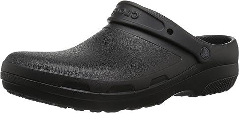 Crocs Men's & Women's Specialist II Clog Comfortable Work Shoe, Great Nursing or Chef Shoe