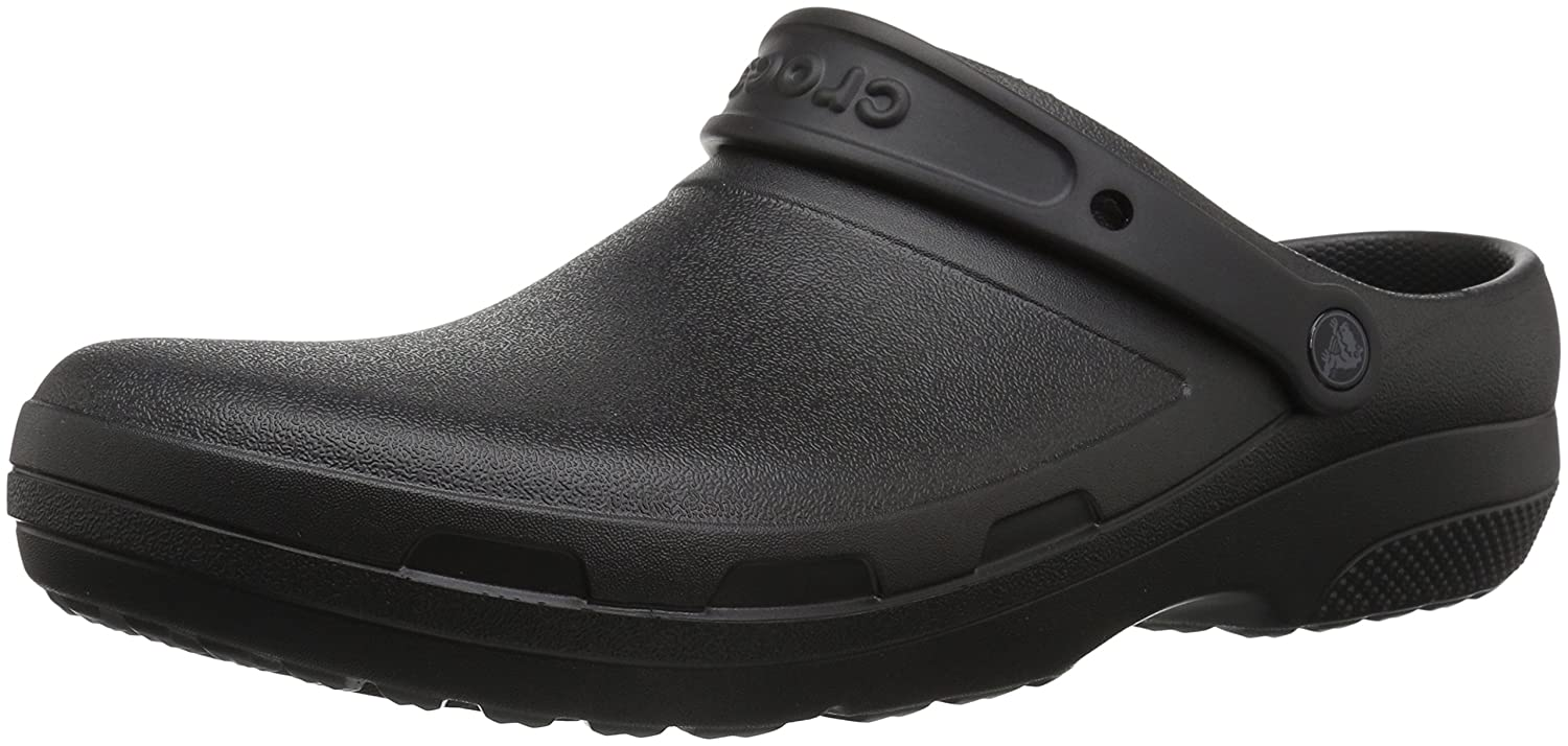 d61292b5e5d86 crocs Unisex s Specialist II Black Clogs-M4W6 (204590)  Buy Online at Low  Prices in India - Amazon.in