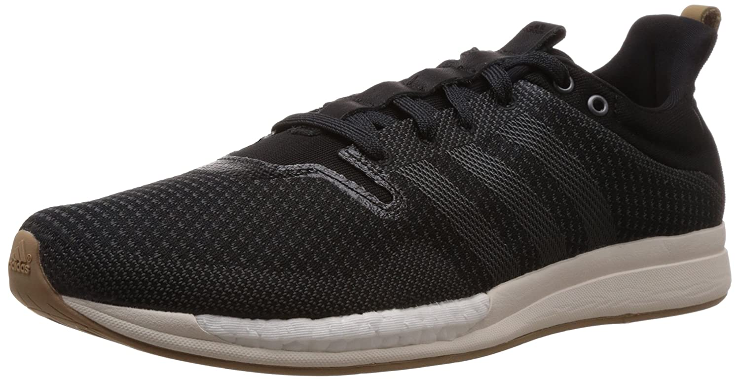 best cheap 948c3 9edcb ... best adidas mens adizero feather boost m black off white and brown mesh running  shoes 12