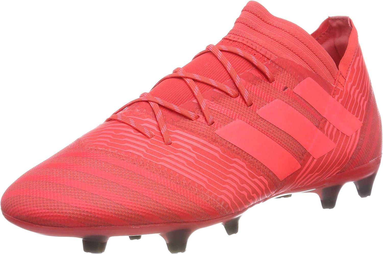 Adidas Nemeziz 17.2 FG, Botas de fútbol para Hombre, Naranja (Correa/Rojent/Negbas 000), 40 EU: Amazon.es: Zapatos y complementos