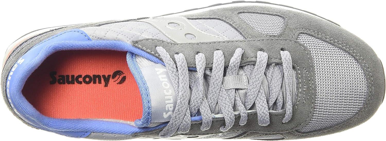 Saucony Women's Shadow Original Sneaker Dark Grey/Baby Blue