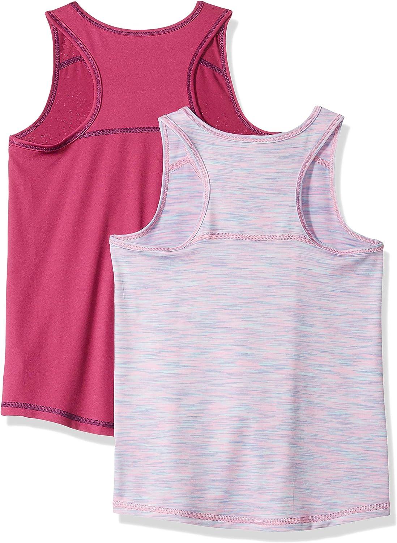 Pack de 2 camisetas deportivas sin mangas para ni/ña Essentials