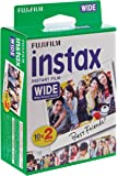 Checky 富士 instax wide 210宽幅相纸 一次成像胶片 白边(20张/盒)