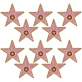 """Beistle 58048 Mini """"Star"""" Cutouts, 5"""", Multicolor"""