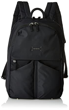 "Samsonite Lady Tech Rounded Backpack 14.1"" Mochila Tipo Casual, 14.5 litros, Color Negro"