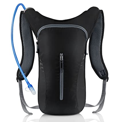 KUYOU Hydration Pack,Ultra Lightweight Water Backpack Includes BPA Free Water Bladder for Running Hiking