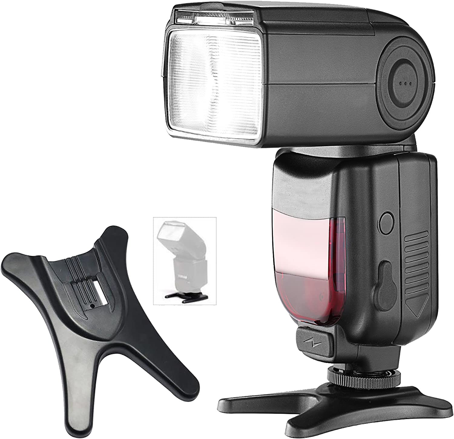 Neewer 2 Packs Hot Shoe Flash Stand Compatible with Nikon SB-910 SB-900 SB-800 Canon 600EX 580EXII 580EX 430EX TT560 NW680 TT850 TT860 VK750 NW670 VK750II Flashes
