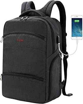 SLOTRA Computer TSA Friendly ScanSmart Laptop Travel Backpack