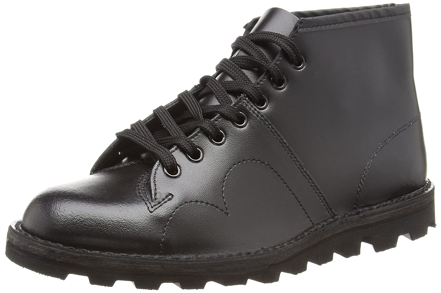 054d60ebd4d Grafters B430A Monkey Boot Unisex Boots In Black.: Amazon.co.uk ...