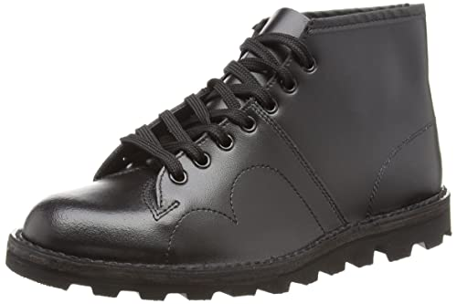 cdcad222c0f Grafters B430A Monkey Boot Unisex Boots In Black.: Amazon.co.uk ...