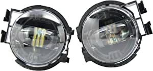 Morimoto Type X XB LED Black LED Fog Light, 2 Pack