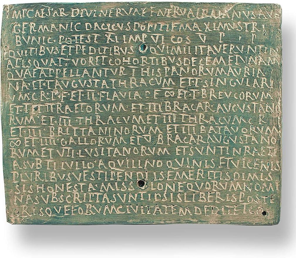 Wand-Relief Gladiatorenkampf Arena Forum Traiani römische Replik