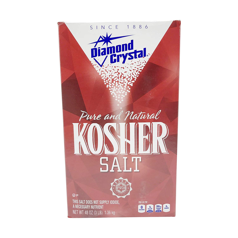 Diamond Crystal Kosher Salt, 48 Ounce (Pack of 1) : Grocery & Gourmet Food