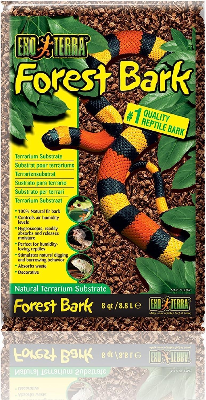 Exo TerraSustrato Tropical ForestBark -8,8L