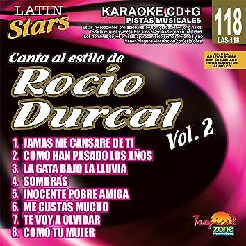 Karaoke: Rocio Durcal 2 - Latin Stars Karaoke by Rocio Durcal ...