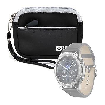 DURAGADGET Estuche De Neopreno Negro para Smartwatch Philips ...