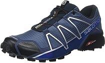 Salomon Speedcross 4, Herren Traillaufschuhe, Schwarz, 40 EU