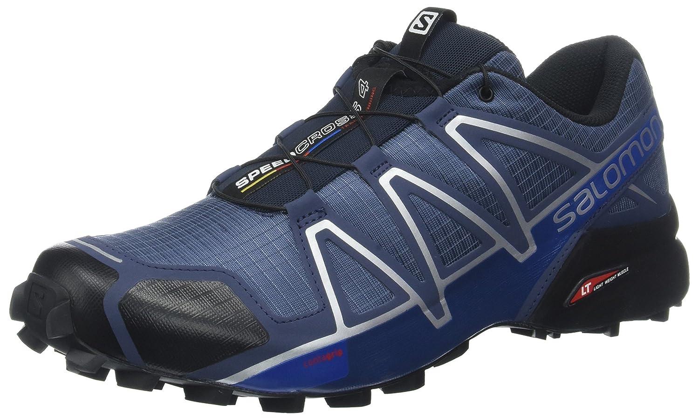 Salomon Men's Speedcross 4 Trail Running Shoes B07CN79XDD 9 D(M) US|Blue