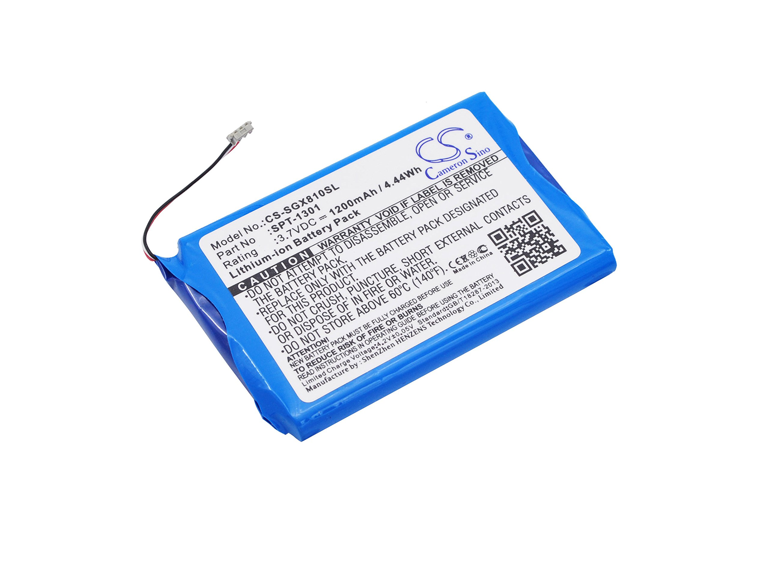Cameron Sino 1200mAh/4.44Wh Replacement Battery for SkyGolf SkyCaddie Touch