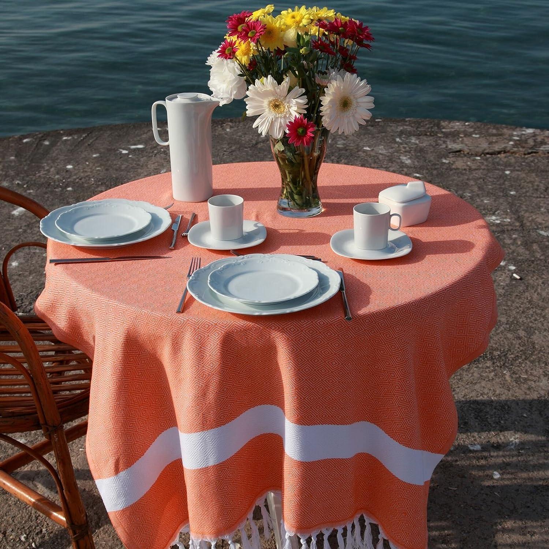 Grey Linum Home Textiles Diamond Pestemal 100/% Soft Premium Authentic Turkish Cotton Luxury Pestemal
