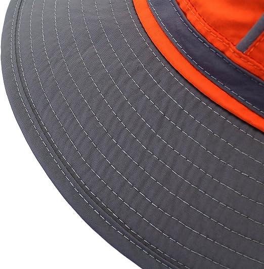 per l/'estate da pesca riflettente UV50/+ cappello a tesa larga Unisex