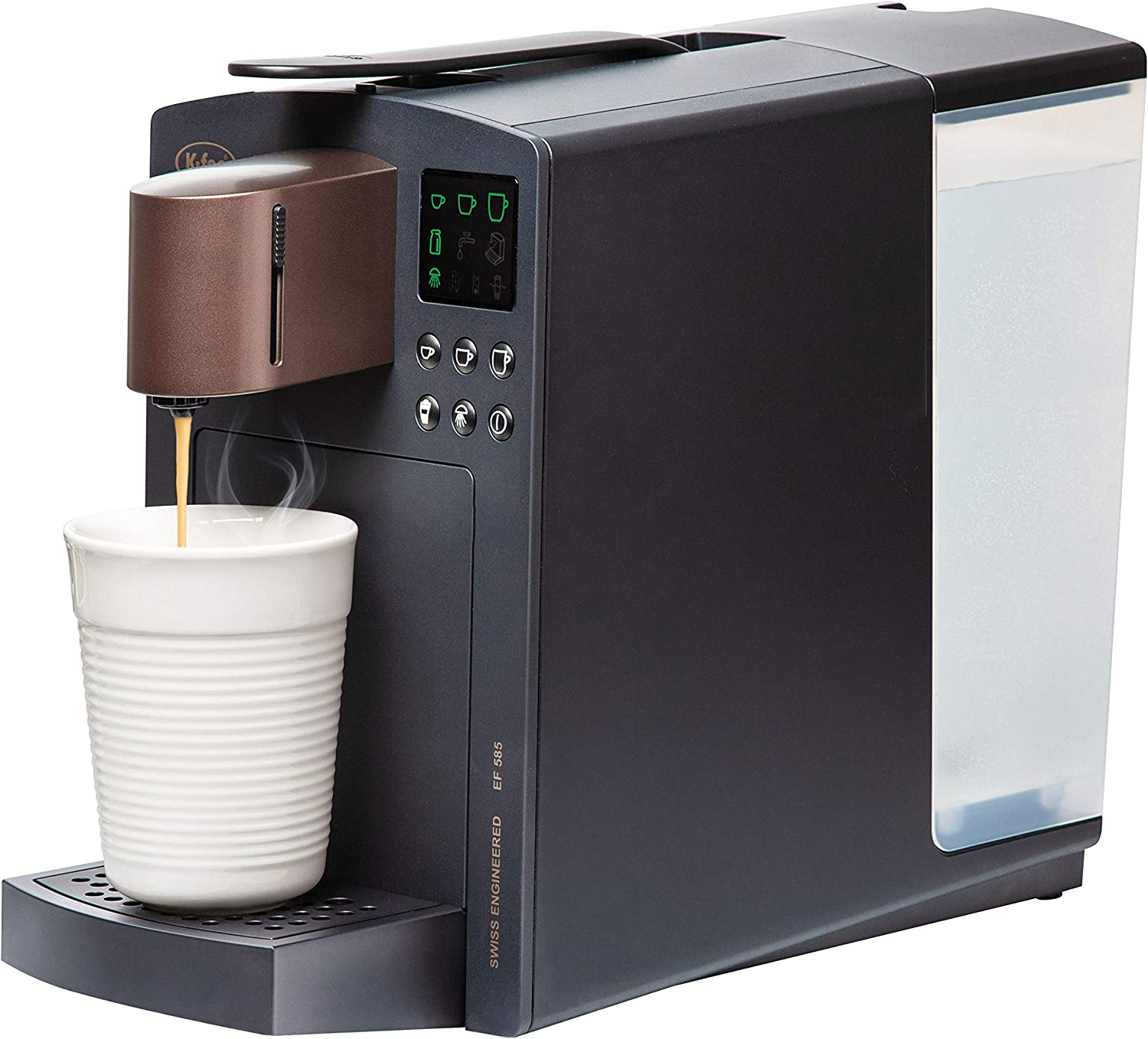 K-Fee Grande Verismo Compatible Single Serve Coffee/Espresso Machine