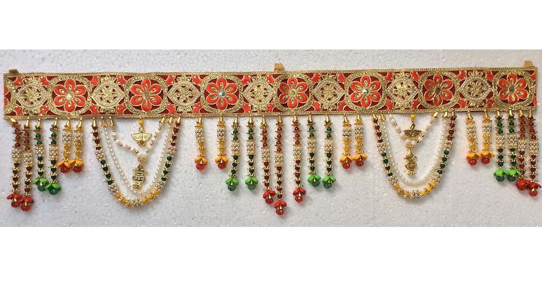 Amazon Com Toran Diwali Door Decor Wall Hanging Hand