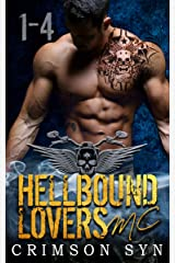 Hellbound Lovers MC (Books 1-4): WOLF, GRAYSON, RIGGS & CAIN Kindle Edition