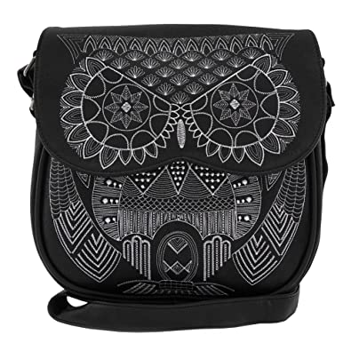 Image Unavailable. Image not available for. Color  Loungefly Owl Mandala Crossbody  Bag 9c20c48354781
