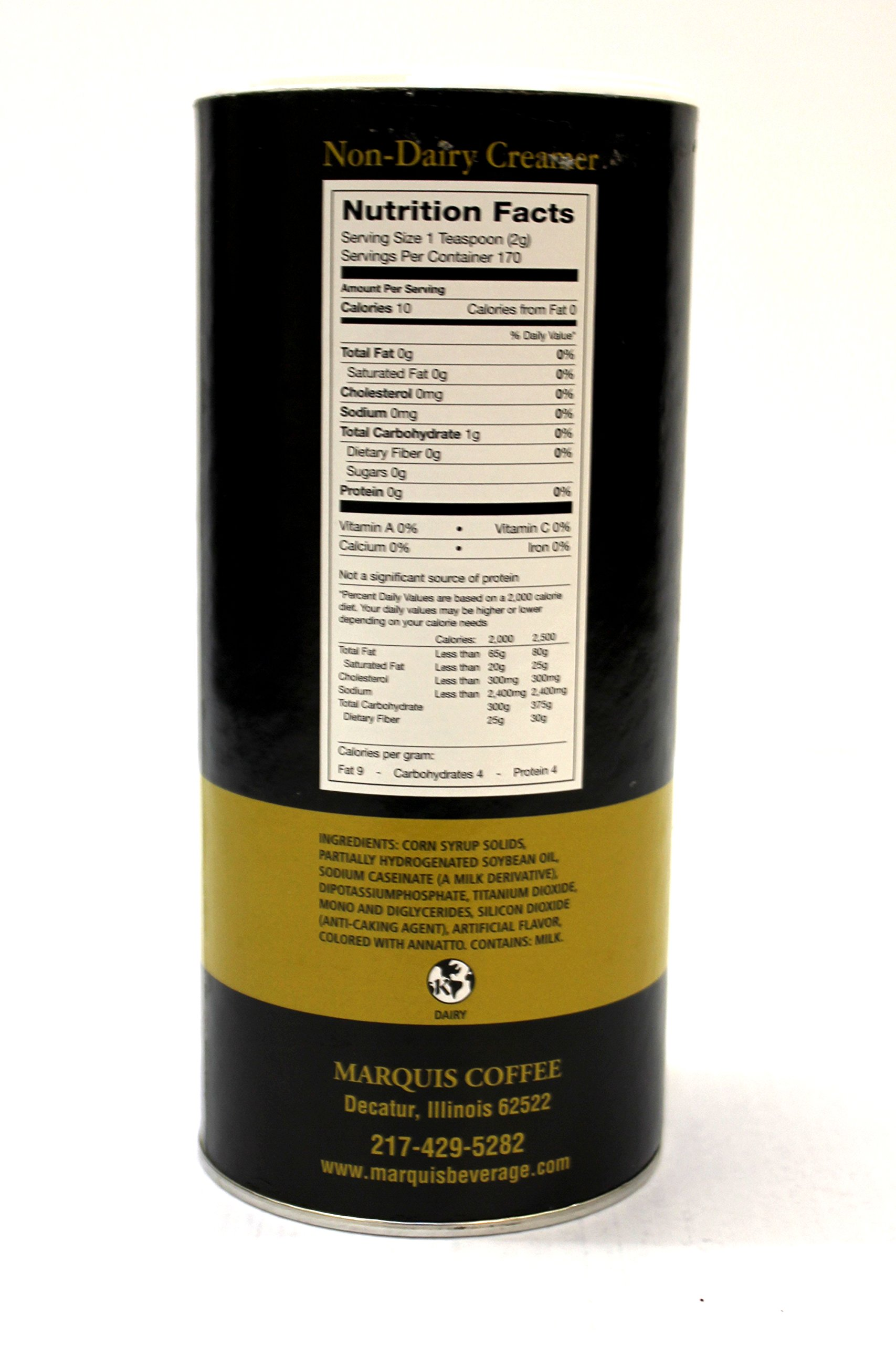 Marquis Creamer Canister 12oz by Marquis (Image #2)