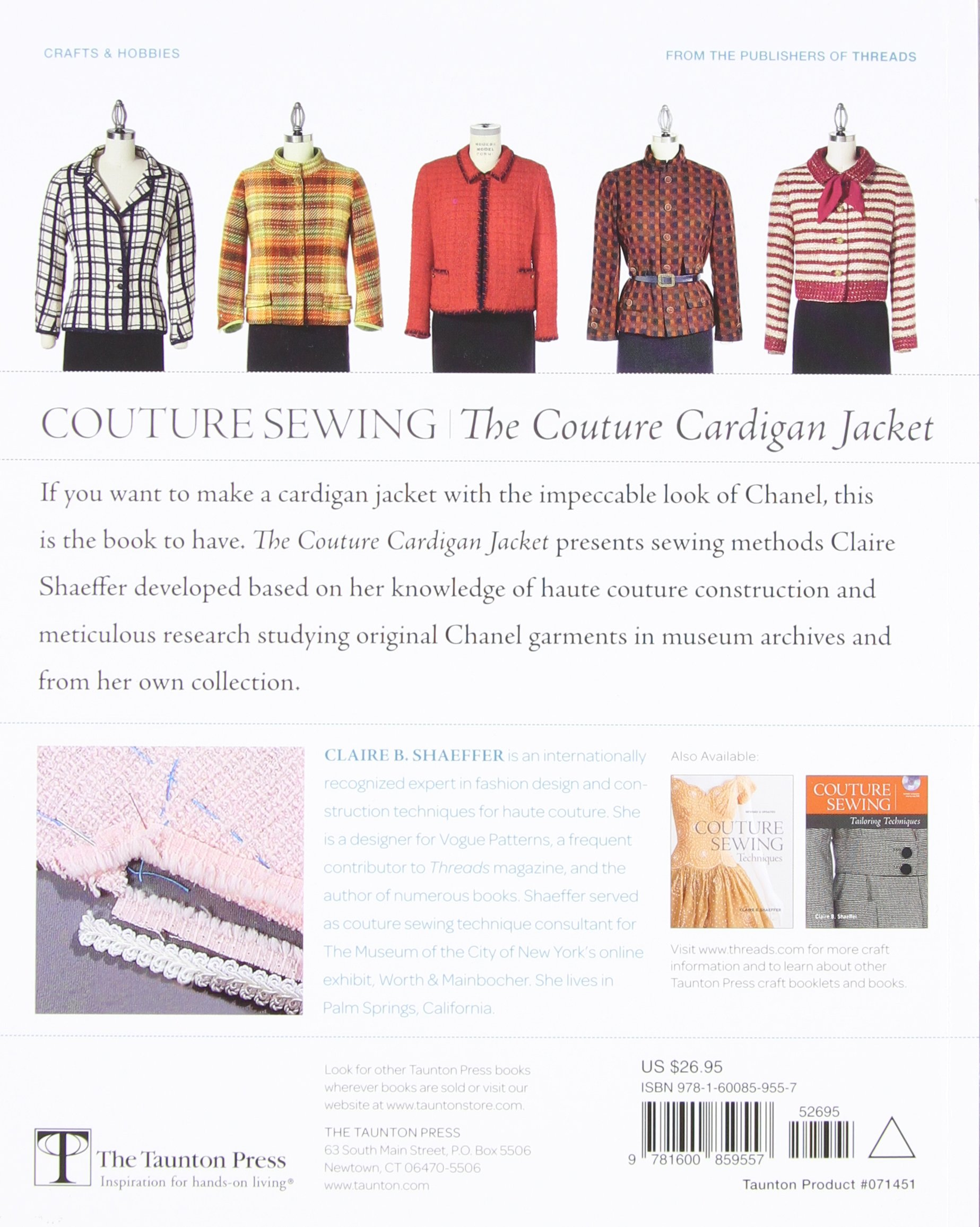 Couture Sewing: The Couture Cardigan Jacket, Sewing secrets from a ...