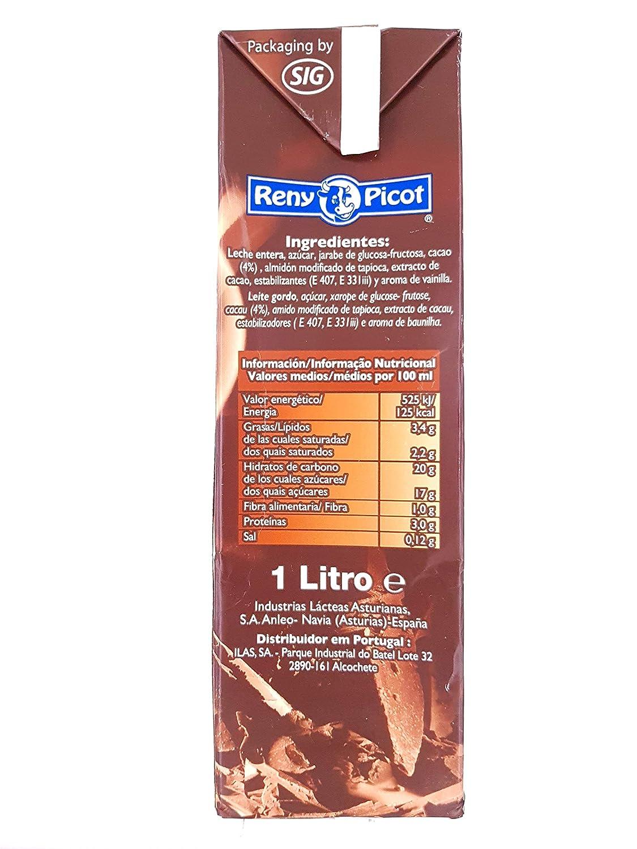 RENY PICOT - Chocolate a la taza - Caliente o frio - brick 1 litro: Amazon.es: Alimentación y bebidas