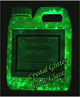 Crystal Glitter Glow Glaze, Wall Paint, Glow In The Dark Starry Night 3D  Effect