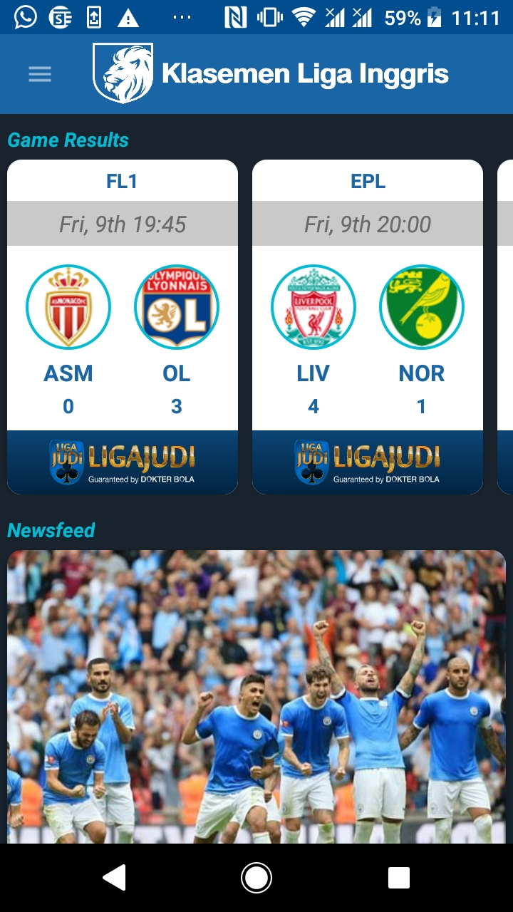 Amazon Prediksi Liga Inggris Appstore For Android