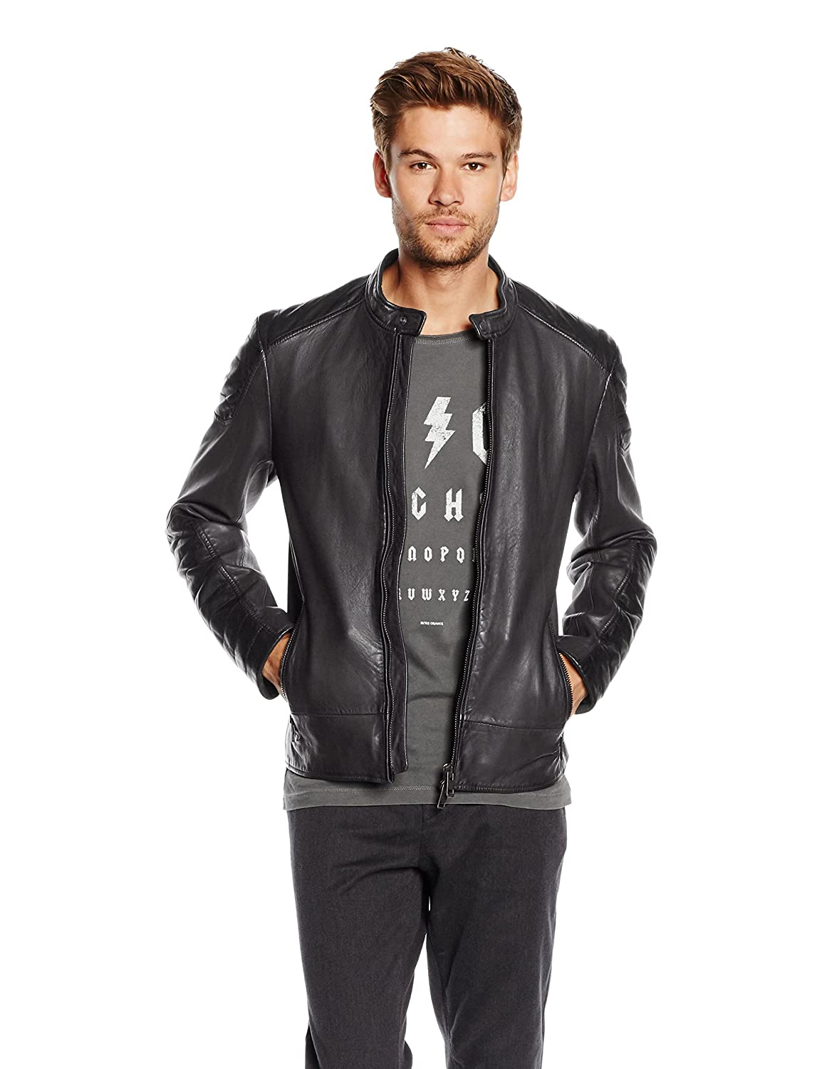 BOSS Orange Jendricks, Chaqueta Hombre, Negro (Black), Small (Talla del fabricante: 48): Amazon.es: Ropa y accesorios