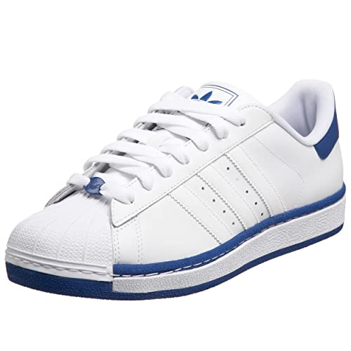 the best attitude 5dc9b 101a3 Adidas Originals Men s Superstar II Pt Sneaker,White White Royal,9 M