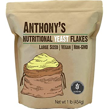 reliable Anthony's Premium Nutritional Yeast Flakes