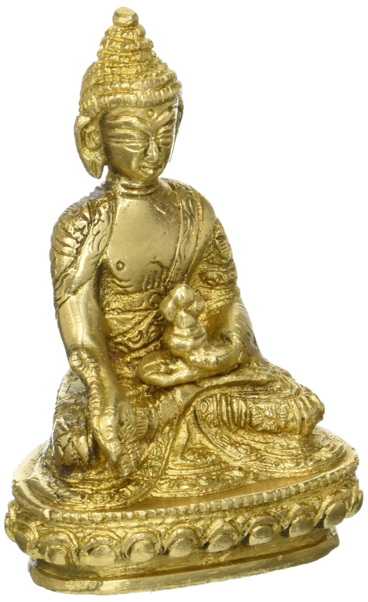 Medicine Buddha - Brass Statue