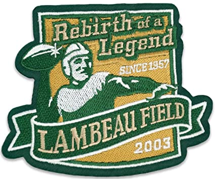 Amazon.com   Green Bay Packers Lambeau Field Commemorative Patch ... 8a1e7078c
