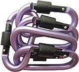 LeBeila Carabiner Clip Aluminum D-Ring Carabiners