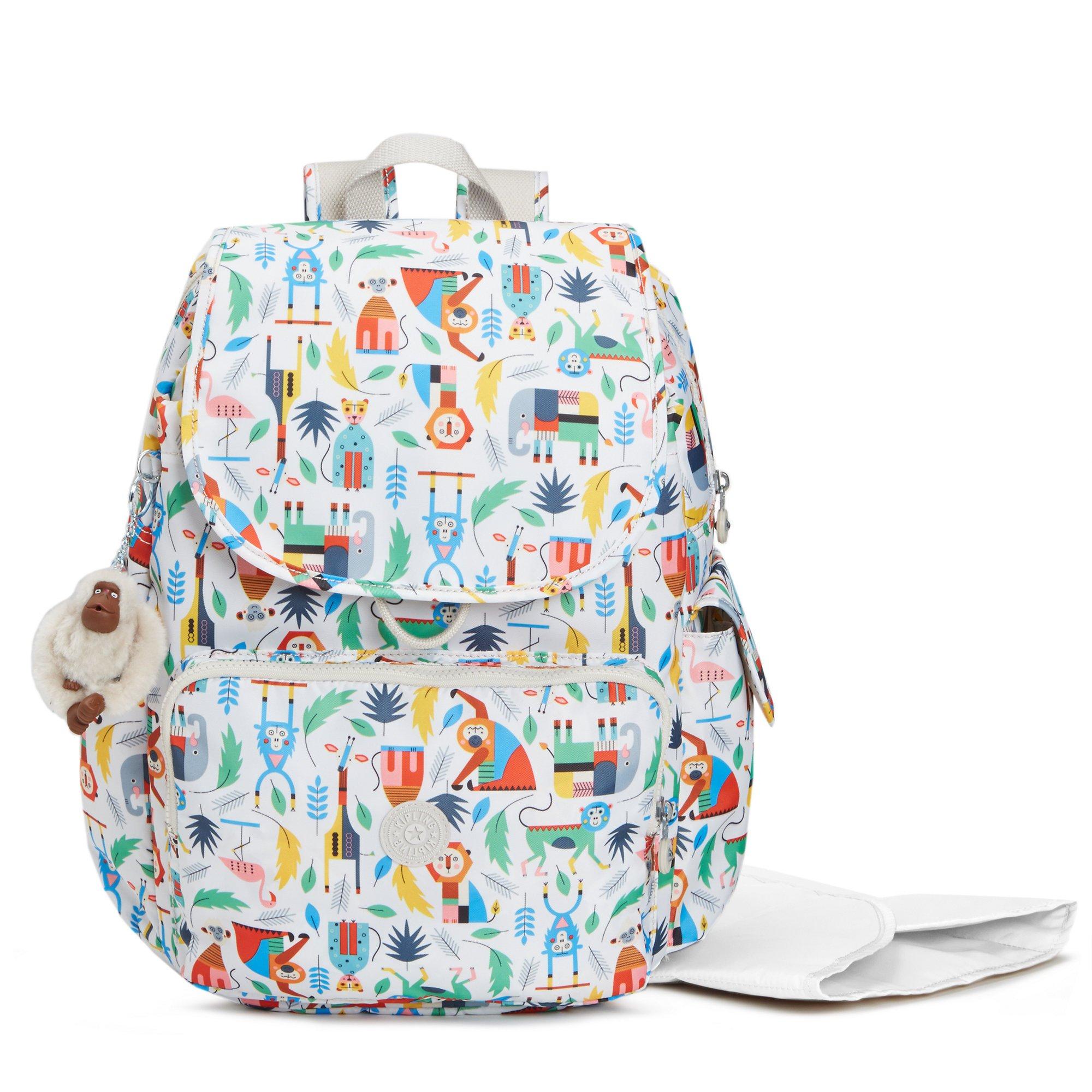 Kipling Women's Baby Printed Backpack Diaper Bag One Size Bundle Of Love
