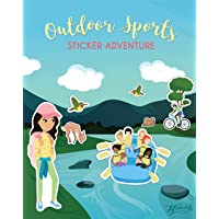 Confidence-Building Sticker Book for Girls Ages 4-8 - Outdoor Sports Sticker Adventure