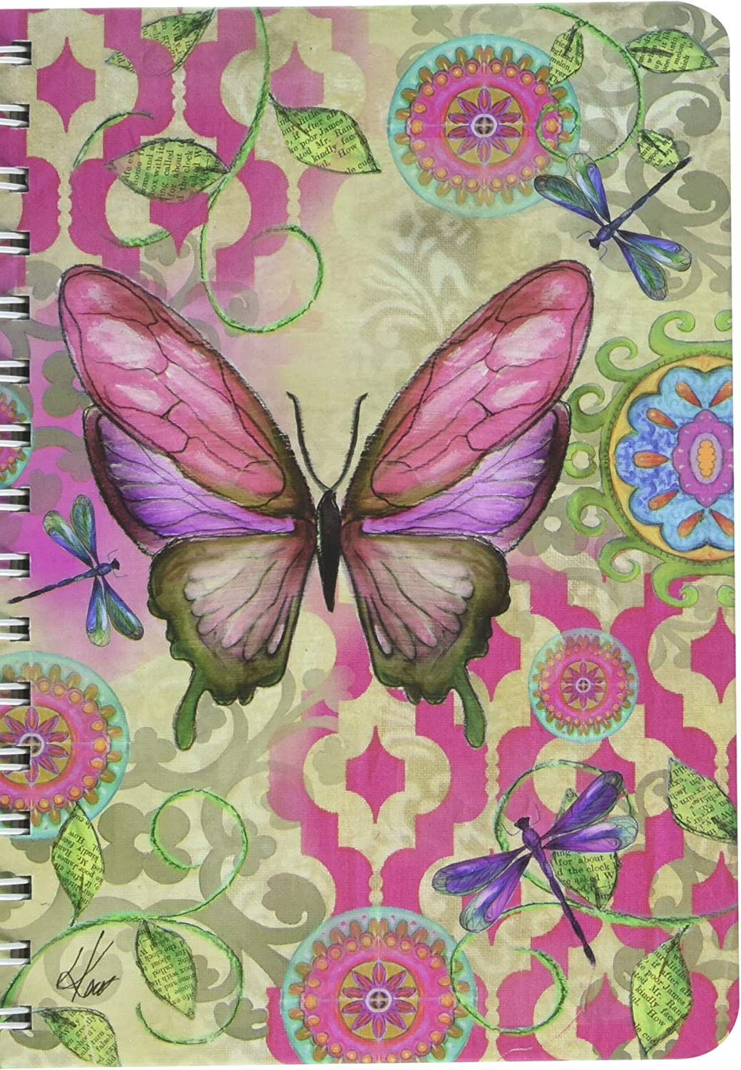 1350019 Lang Allow The Unfolding Spiral Journal by Kelly Rae Roberts