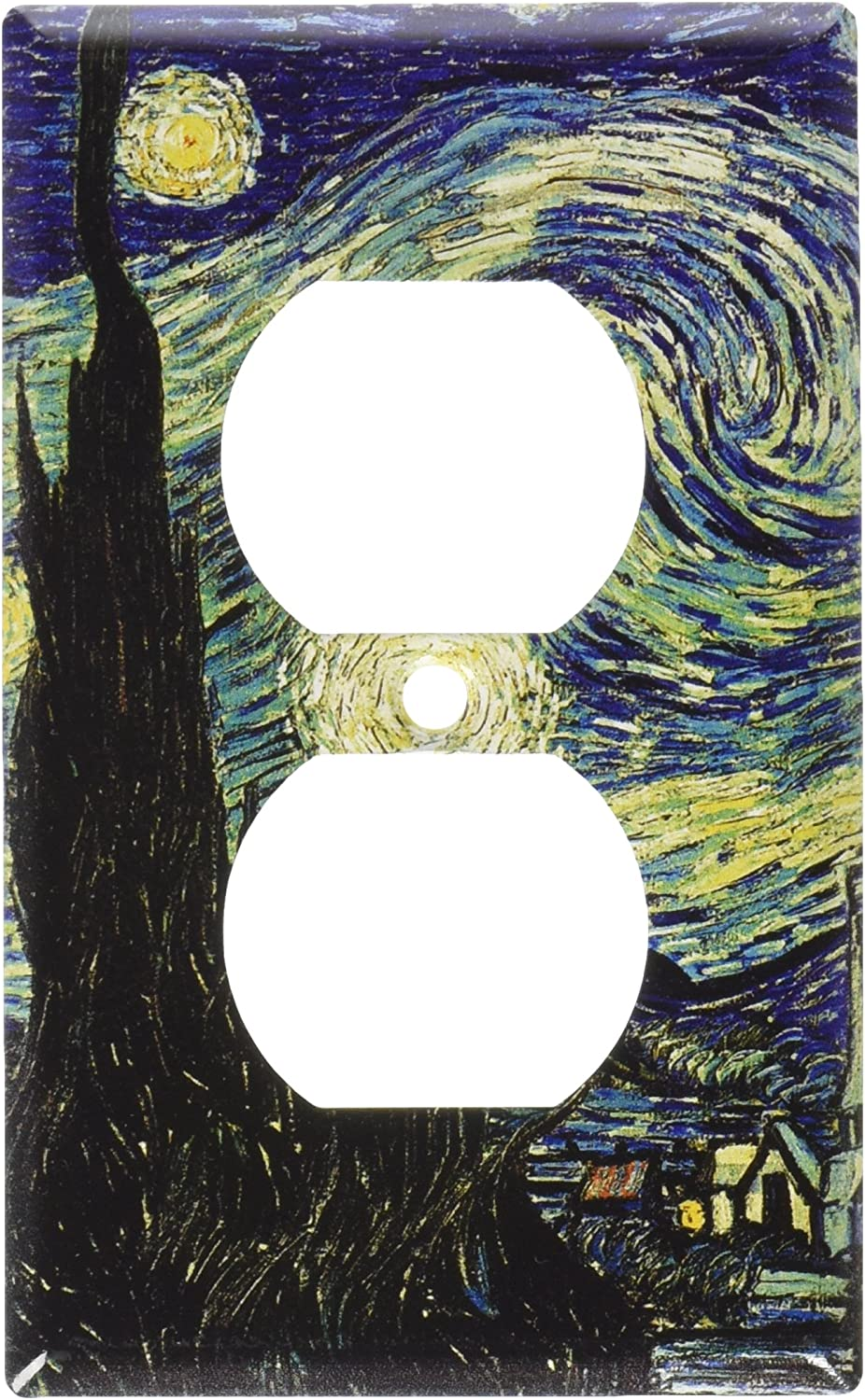 Art Plates - Van Gogh: Starry Night Switch Plate - Outlet Cover