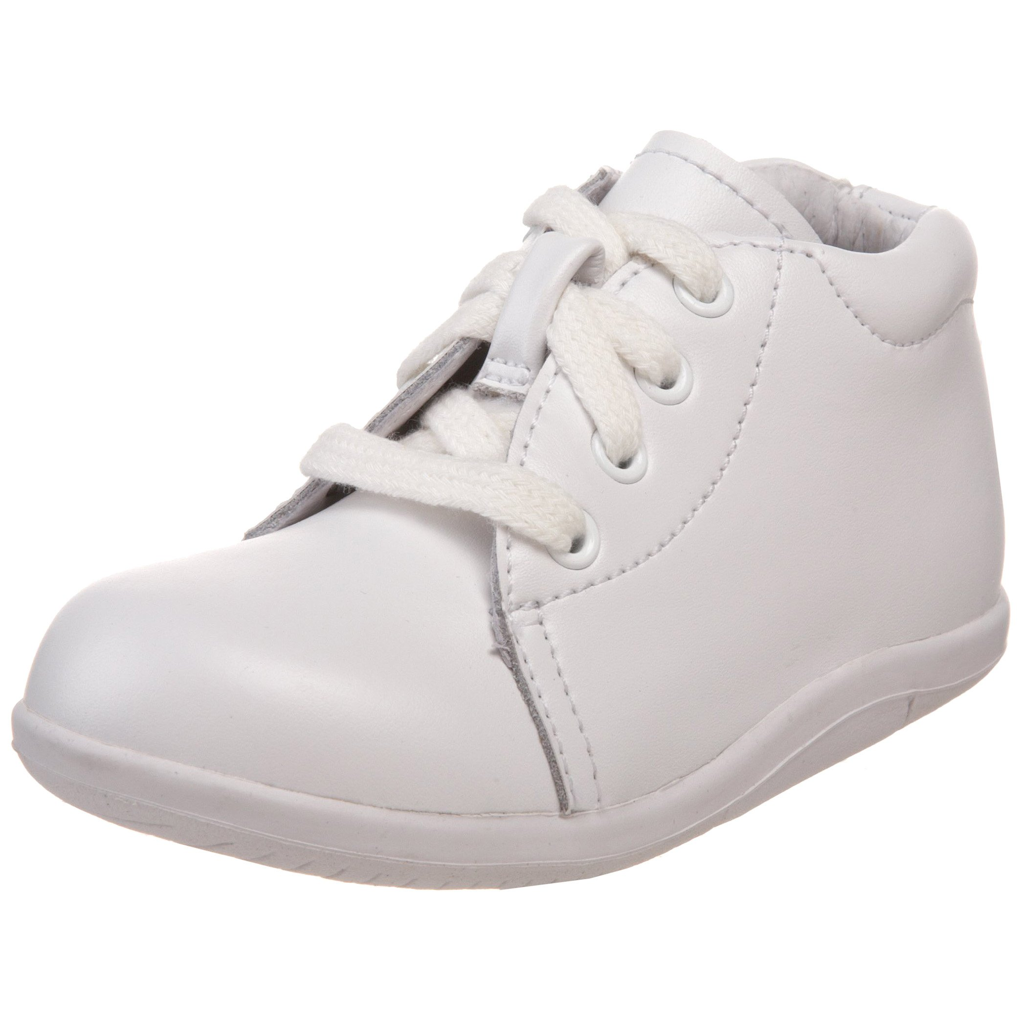 Stride Rite SRTech Elliot Bootie,White,7 2W US Toddler
