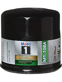 Mobil 1 M1-108A Extended Performance Oil Filter, 2 Pack,