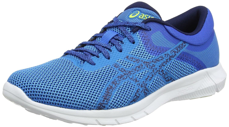 Asics Nitrofuze 2, Zapatillas de Entrenamiento para Hombre 40.5 EU Azul (Hawaiian Surf / Indigo Blue / Energy Green)