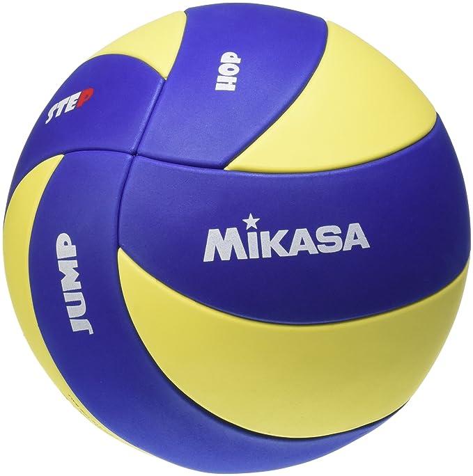 5 opinioni per Mikasa Kinder- MVA 123 SL, Pallone da pallavolo, 65-67 cm, colore: Blu/Giallo